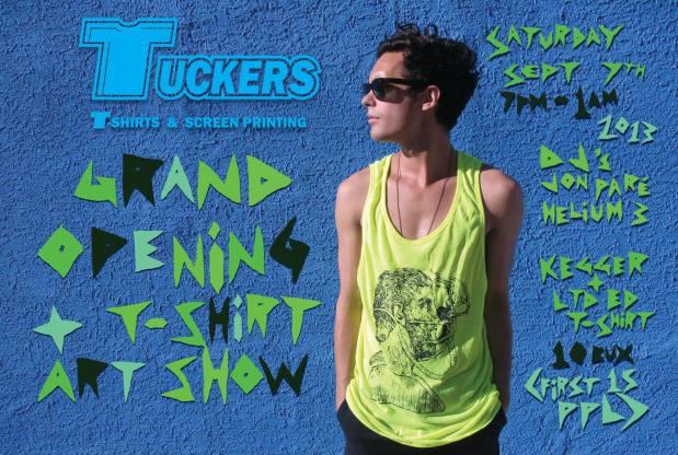 Grand Opening + T-Shirt Art Show! Sept 72013